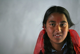 Portrait of girl at Shreeshitalacom Lower Secondary School. Kaski, Nepal | by World Bank Photo Collection