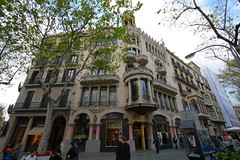 Casa Lleó Morera. Barcelona. Spain