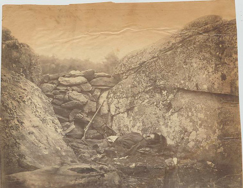 Home of the rebel sharpshooter : Gettysburg. | by New York Public Library