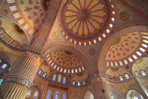 Turkey - Istanbul - Blue Mosque Interior 4 | by Darrell Godliman