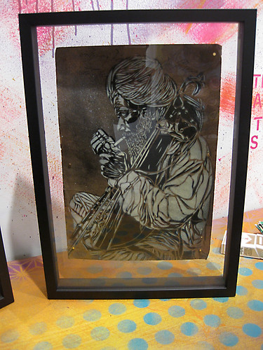 C215 - JUNK STORE - solo show at AD HOC gallery (Brooklyn) | by C215