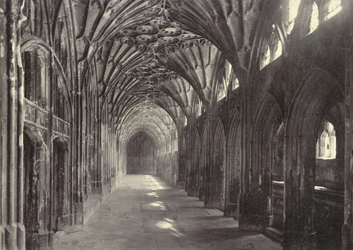 The Great Cloisters, Gloucester Cathedral | by Cornell University Library