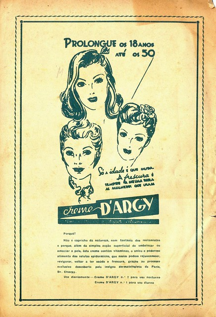 Modas e Bordados, No. 1617, February 1943 - back cover