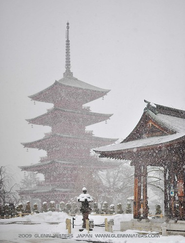 Hirosaki Pagoda.  © Glenn E Waters. Over 3,000 visits to this photo.  Thank you. | by Glenn Waters ぐれんin Japan.