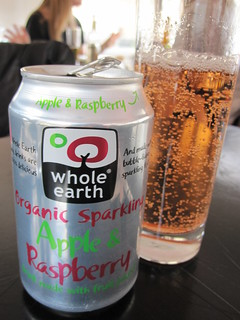 Apple and Raspberry Soda | by veganbackpacker