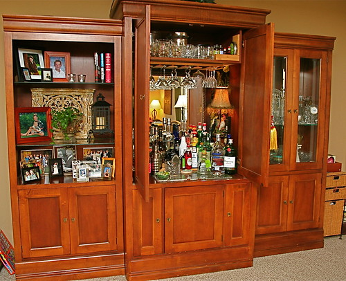 Entertainment Center To Craft Station