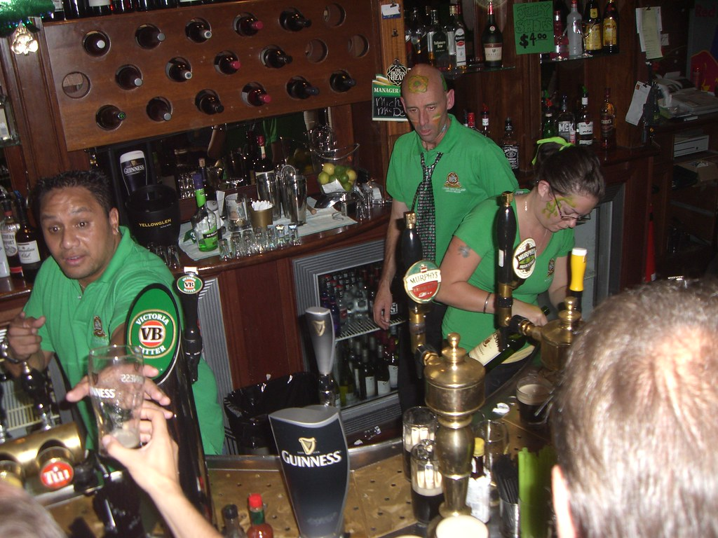 St Paddy's Day - Napier - New Zealand