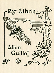 [Bookplate of Albin Guillot] | by Pratt Institute Library