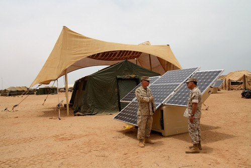 AFRICOM: Marines Test Out Alternative Energy System at African Lion | by USAFRICOM
