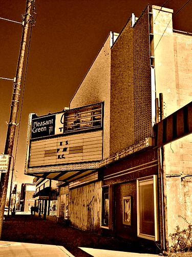 Avenue Theater Abandoned Movie Theater In Downtown Kansas Flickr