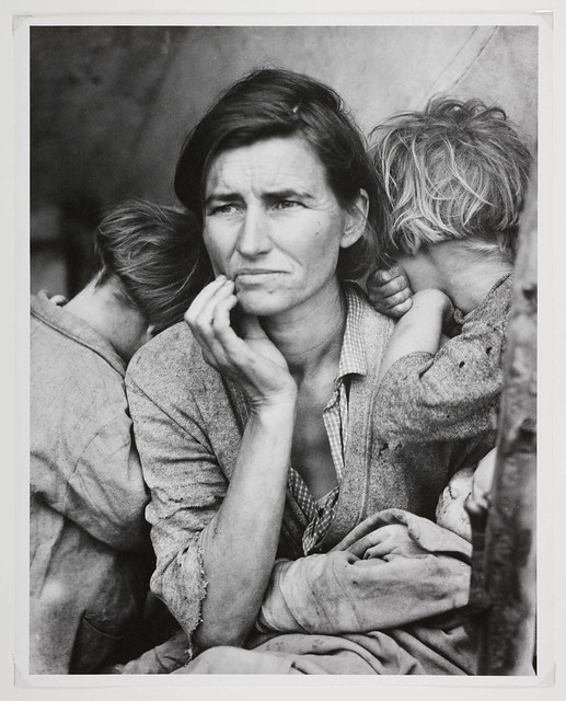 'Migrant Mother, Nipomo, California'