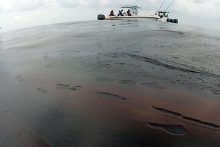 Thick Layer of BP Oil on Gulf of Mexico | by NWFblogs