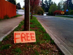 Free sign on the corner | by Ninja M.