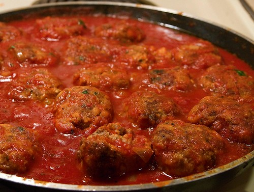 Real Meatballs and Sauce | by Jeff Cushner