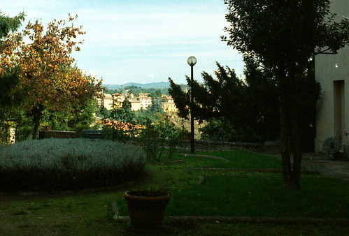 Siena: 1998-11-08 View of the University Garden | by orcmid