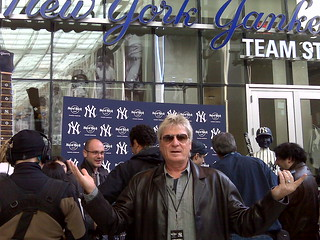 Del at new Yankee Stadium | by Del Breckenfeld