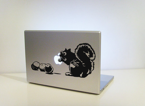 Bust'n a Nut laptop decal | by vinylville