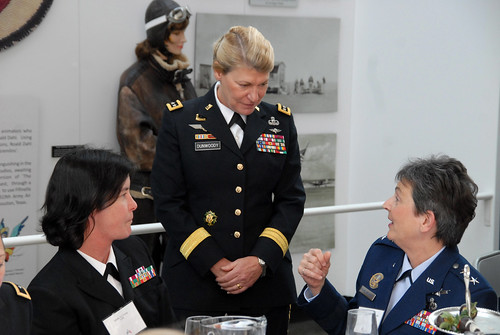 Female flag officers honor first woman four-star | by The U.S. Army