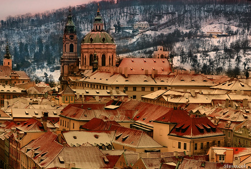Prague rooftops | by Stevacek