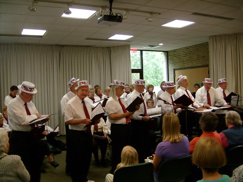 """Songs of the River"" Bethlehem Senior Chorus, directed by Claudia Summers 