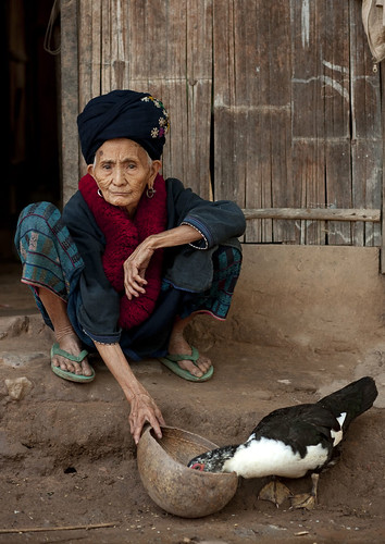 Old Yao woman Laos | by Eric Lafforgue