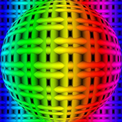 Grid Sphere Flickr Photo Sharing