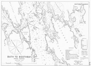 Bath to Boothbay, Inside Passage, Eastern Half [Maine] | by uconnlibrariesmagic