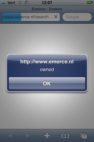 Emerce XSS (safari is een echte browser :-) | by bertboerland