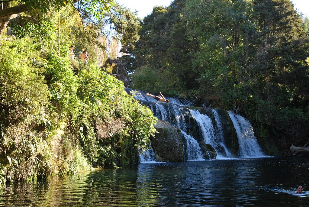 Maraetotara Falls - Hawke's Bay - New Zealand