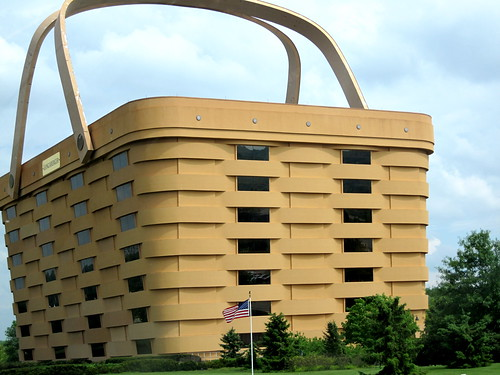 Longaberger building in Newark, OH | by ellenm1