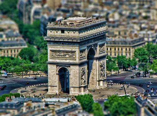 Tilt Shift:  Arc de Triomphe | by Samantha Decker