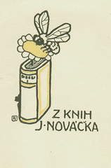 [Bookplate of Z Knih J. Novacka] | by Pratt Institute Library