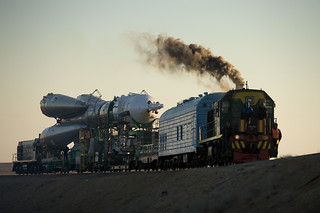 Expedition 19 Soyuz Rollout (200903240009HQ) | by NASA HQ PHOTO