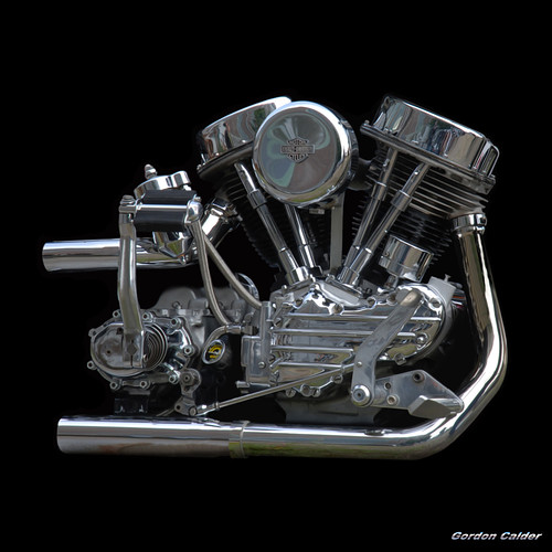 no 6 classic harley davidson panhead chopper motorcycle e