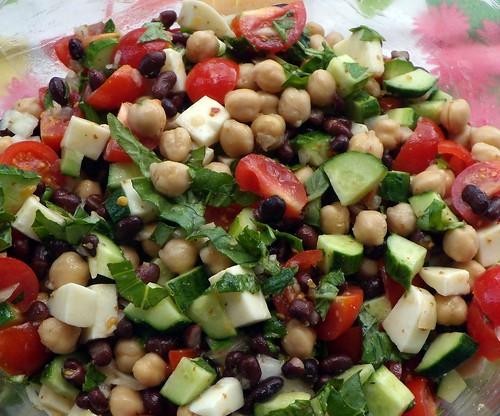 "Chopped ""Italian"" Vegetable Salad | ""Italian Mozzarella Sala ..."