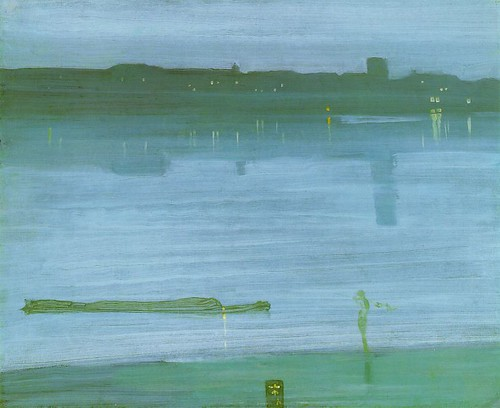 Whistler, James McNeill (1834-1903) - 1871 Nocturne, Blue and Silver (Tate Gallery) | by RasMarley