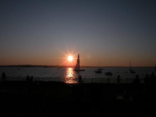Newport Folk50-sunset