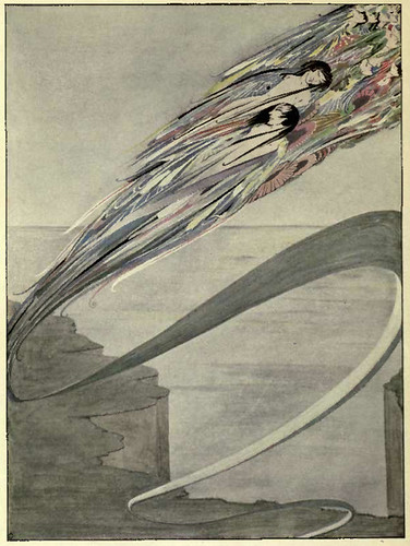 harry clarke, from The year's at the spring; an anthology of recent poetry (1920) 5 | by 50 Watts