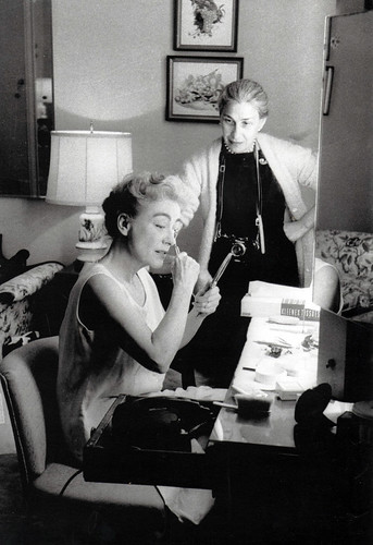 Joan Crawford and Eve Arnold, 1959 | by thefoxling