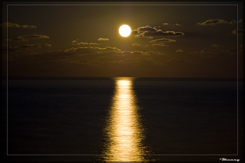 Moonrise! Caspian sea, north of Iran   (Explored) | by M@@nʎ