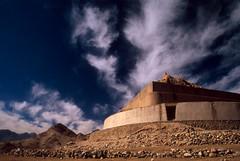 Tisuru Stupa Ruins - Leh, Ladakh, 2008