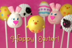 Happy Easter Cake Pops | by Bakerella