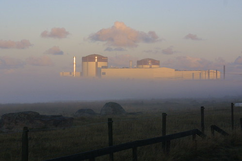 Ringhals nuclear power plant in fog | by Vattenfall