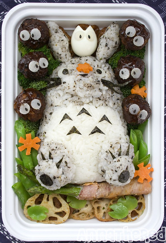 Bento #58: Sitting Totoro | by AnnaTheRed