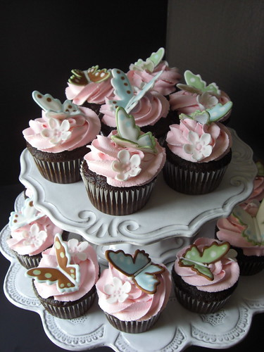 Chocolate Butterfly Cupcakes | by Sugar Envy