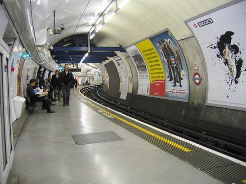 Embankment Tube Station, London England