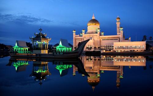 Sultan omar ali saifuddin mosque bandar seri begawan for Trodel mobel
