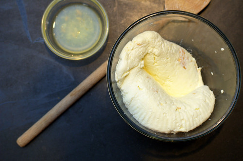homemade ricotta | by sassyradish