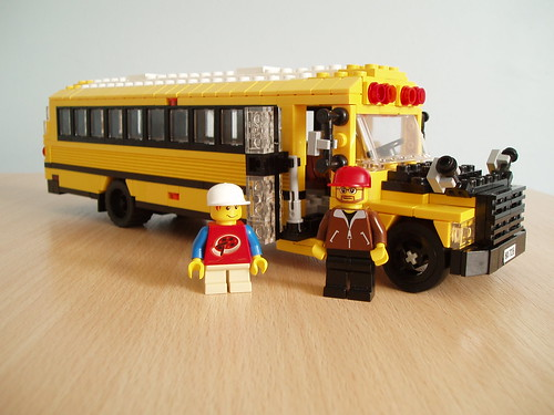 American School bus (2) | by Mad physicist
