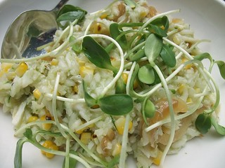 Lump Crab and Sweet Corn Risotto at Basi Italia | by swampkitty